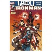 """Iron Man N° 9 ( Avengers Vs X-Men ) : """" Le Futur """" ( Iron Man / Fantastic Four / New Avengers )"""