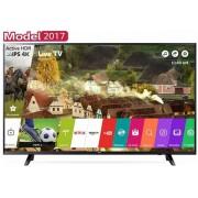 """Televizor LED LG 109 cm (43"""") 43uj620, Ultra HD 4K, Smart TV, WiFi, CI+ + Voucher Cadou 1 metru de Berea Casei la Restaurantul Hanu' Berarilor"""