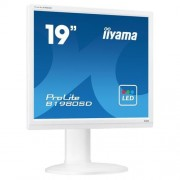 Monitor iiyama ProLite B1980SD-W1, 19'', LCD, 1280x1024, 5M:1, 5ms, 250cd, D-SUB, DVI, ECO, biely