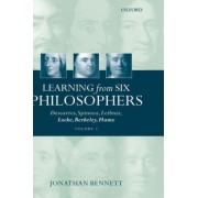 Learning from Six Philosophers: Volume 2 by Jonathan Bennett