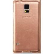 Husa Flip HOCO Original HS-L080 Samsung Galaxy S5 G900 Golden
