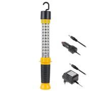 Lampa atelier 30+9 LED cu incarcare la retea + auto