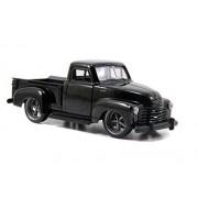 1953 Chevy Pickup Truck, Black Jada Toys Just Trucks 97007 1/32 Scale Diecast Model Toy Car