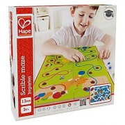 Hape - Home Education - Scribble Wooden Puzzle Maze