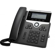 Cisco Systems 7811 1líneas LED Wired handset Negro, Plata Teléfono IP (LED, Negro, Plata, 384 x 106 Pixeles, G.711a, G.722, G.729A, G.729B, iLBC, IEEE 802.3, IEEE 802.3u, IEEE 802.3af, 802.1x RADIUS)