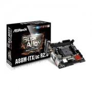 Carte mère ASROCK A88M-ITX/AC R2.0 Mini ITX Socket FM2+ AMD A88X - SATA 6 Gbps - USB 3.0 - Wi-Fi AC/Bluetooth 4.0 - 1x PCI-Express 3.0 16x