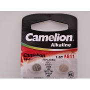 Camelion AG11, baterie ceas 1.5V alcalina, LR72, LR58, 162, SR721W, GP62A, 362 blister 10