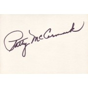 Patty McCormack Autographed Index Card