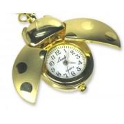 Arany katicás óra,kulcstartó