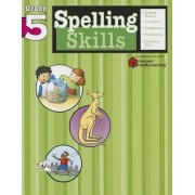 Spelling Skills: Grade 5 (Flash Kids Harcourt Family Learning) by Flash Kids Editors