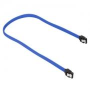 Cablu Sharkoon SATA3, 30cm, Blue