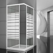Box doccia angolare Linebox 80x100
