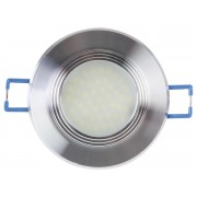 SPOT LED ENCASTRABLE - LENTILLE DIFFUSANTE - BLANC NEUTRE (4200 K)