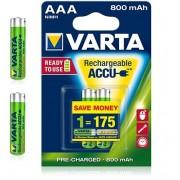 Acumulatori Varta AAA 800mAh 1.2V Ni-Mh