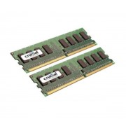 CRUCIAL-4 Go (Kit 2x 2 Go) DDR2-SDRAM PC6400 CL6 - CT2KIT25664AA800 (garantie 10 ans par Crucial) (CT2KIT25664AA800)-