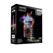 Light Up Building Construction Set - Laser Pegs - Robots (20 Lighted Pieces) by Laser Pegs