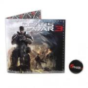 NECA Gears of War 3 Portafoglio in vinile con Pin