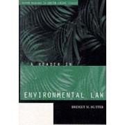 A Reader in Environmental Law by Bridget Hutter