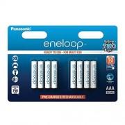 eneloop Panasonic SY3052692 Pack 8 pilas recargables, AAA
