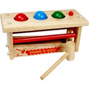 TOMAFO WOODEN TOYS POUND-N-ROLL