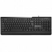 KBD, Delux DLK-6010U, USB, Black + Mouse M375 USB (DLK-6010U/BULG_M375U)