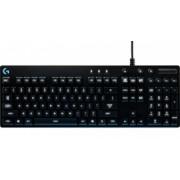 Teclado Gamer Logitech G810 Orion Spectrum RGB, Teclado Mecánico, Romer-G, Alámbrico, USB, Negro (Inglés)