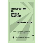 Introduction to Survey Sampling by Graham Kalton