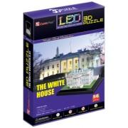Cubic Fun L504H - 3D Puzzle La Casa Bianca LED Washington Usa