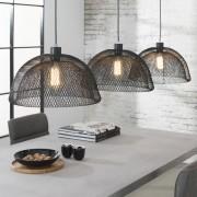 LUMZ Hanglamp met drie metalen kappen