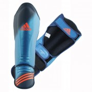 Adidas Speed Grappling Shin-n-Step Blauw - S/M