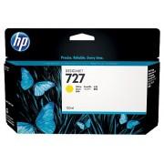 HP 727 Yellow Designjet Ink Cartridge, 130-ml (B3P21A)