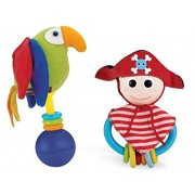 Yookidoo Pirate Play Set 40118 - Juego pirata y loro [Importado]