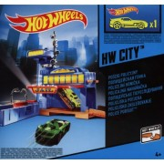 Mattel BGT82 - Hot Wheels: City, Police Pursuit, Circuito + 1 macchinina, Colori assortiti