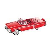 "Motormax GOTZMM73267RD 1:24 Scale Red ""1958 Chevrolet Impala"" Die Cast Model Car"