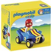 Playmobil 1 2 3 Quad Bike, Multi Color