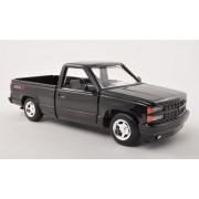 Chevrolet Pick Up 454 SS, black, 1992, Modellauto, Ready-made, Motormax 1:24