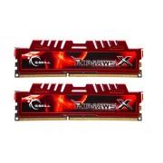 G.Skill Memoria RAM, 16 GB, DDR3-1600, CL10 RipjawsX