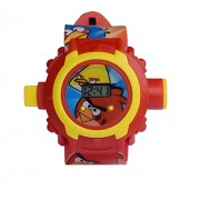 CREATOR Angry Bird Projector Digital Watch for Kids