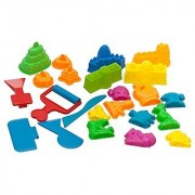 Deluxe Sand Molds Kit (23 Pieces) - Exclusive Sands Alive Set - Can Be Used With Any Molding Play Sand