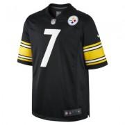 NikeNFL Pittsburgh Steelers (Ben Roethlisberger) Men's American Football Home Game Jersey