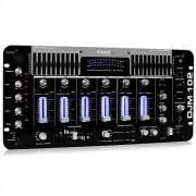 ПРОФЕСИОНАЛЕН IBIZA DJM-102 4-каналов миксер, LED, ECHO ЕФЕКТ (DJM-102)