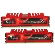 G.SKILL MÉMOIRE RAM 8 GO - 2X 4096 GO - DDR3-1600 - 9-9-9-24-2N - RIPJAWS-X - F3-12800CL