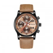 Ceas casual barbatesc Curren Quartz 8207-4, bronz