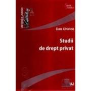 Studii de drept privat - Dan Chirica