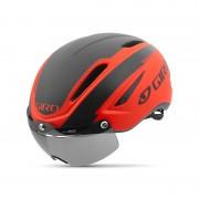 Giro Air Attack Shield helm rood/zwart 59-63 cm 2017 Racefiets helmen