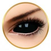 ColourVUE Sclera Sabretooth - lentile de contact colorate negre anuale - 185 purtari (2 lentile/cutie)