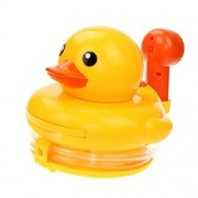 MagiDeal ABS Plastic Duck Baby Bath Toy Bathing Accessories & Watering Plants Tool Water Spraying Play Fun Games Garden Supplies