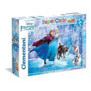 Clementoni 24474 - Puzzle Frozen, 24 Maxi Pezzi, Multicolore