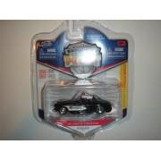 2011 Jada Wave 3 Badge City Heat 57 Chevy Corvette Police Black/White #033