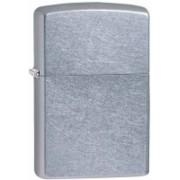 Zippo Lighter Classic Plain Street Chrome Carabiner(Silver)